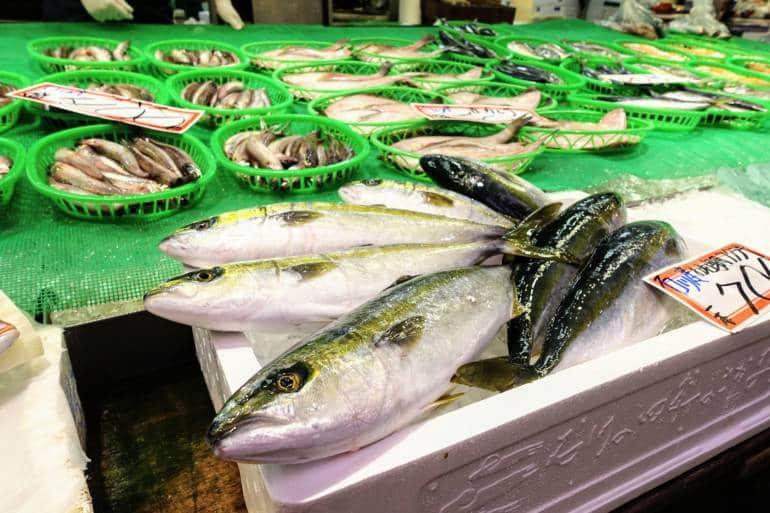 Omicho Market Fish Kanazawa