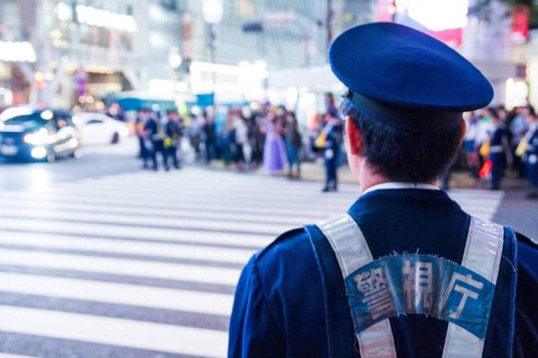 Police in Tokyo
