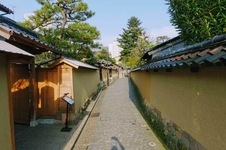 Samurai District Kanazawa