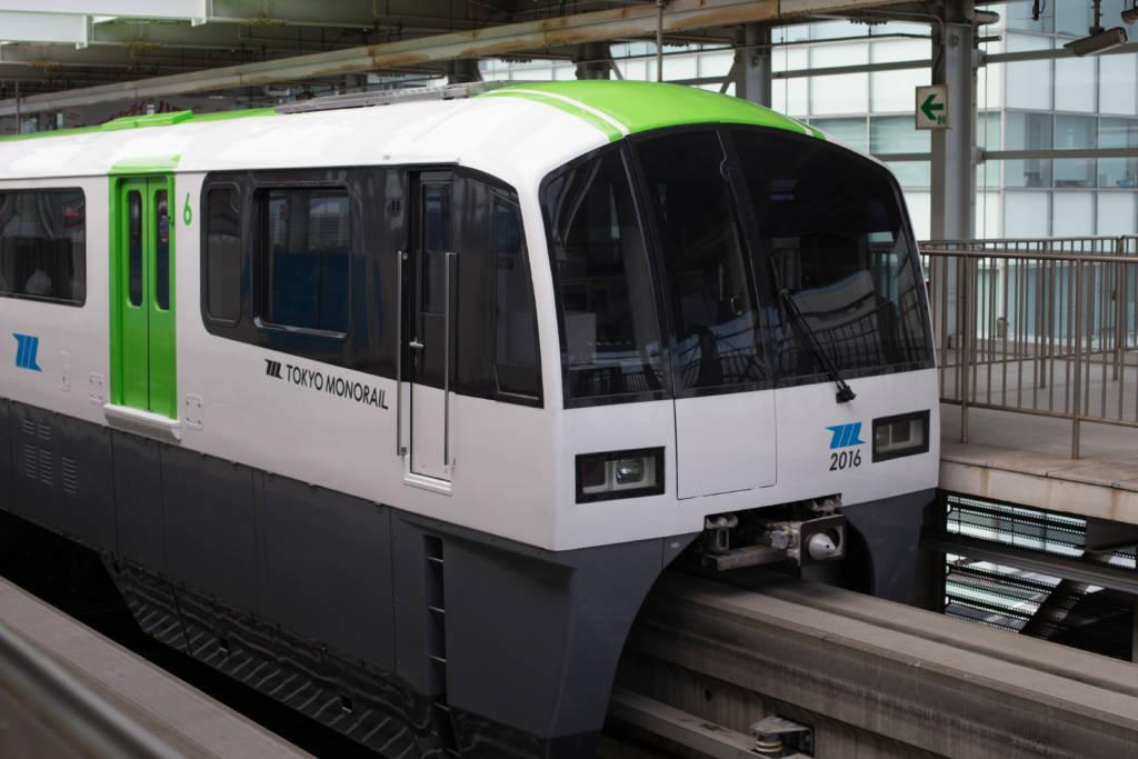 haneda airport to tokyo monorail train