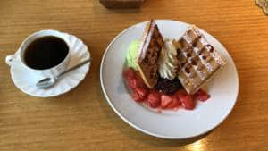kurobe gorge waffle