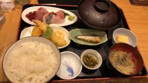Kanazawa seafood meal