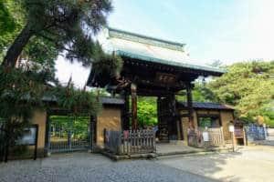 Gotokuji Front Gate