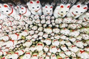 Gotokuji Maneki Neko Cats