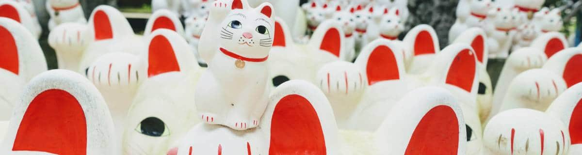 An Afternoon in Gotokuji: Cats, Cafes and Retro Sento