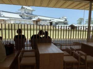 Kanazawa Castle tearoom