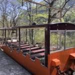 Empty Kurobe Gorge Railway Carriage