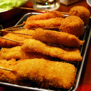 A Winner Every Time: Eating, Drinking and Testing Your Luck at Kushikatsu Tanaka