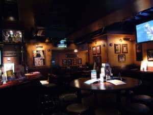 Hub pub, empty