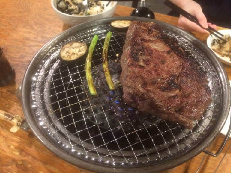 Gyubig steak
