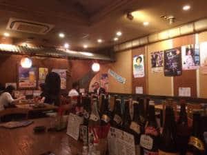 Okinawan restaurant interior