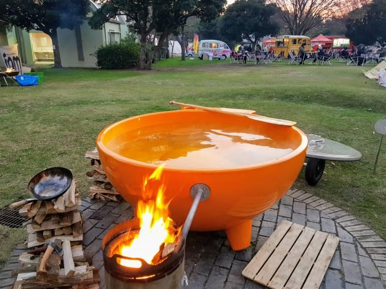 camping hot-tub