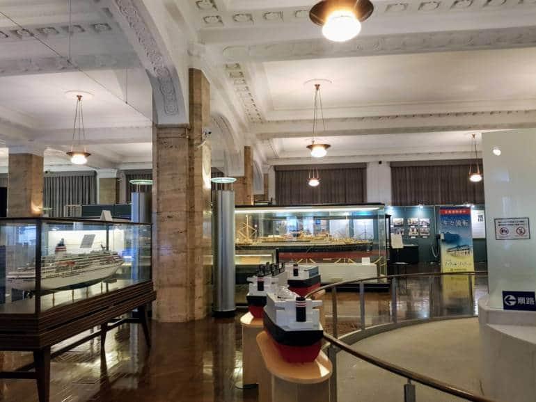 NYK Museum Interior