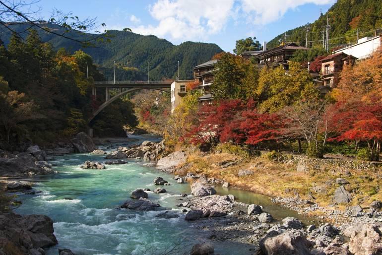 Tama River in Okutama