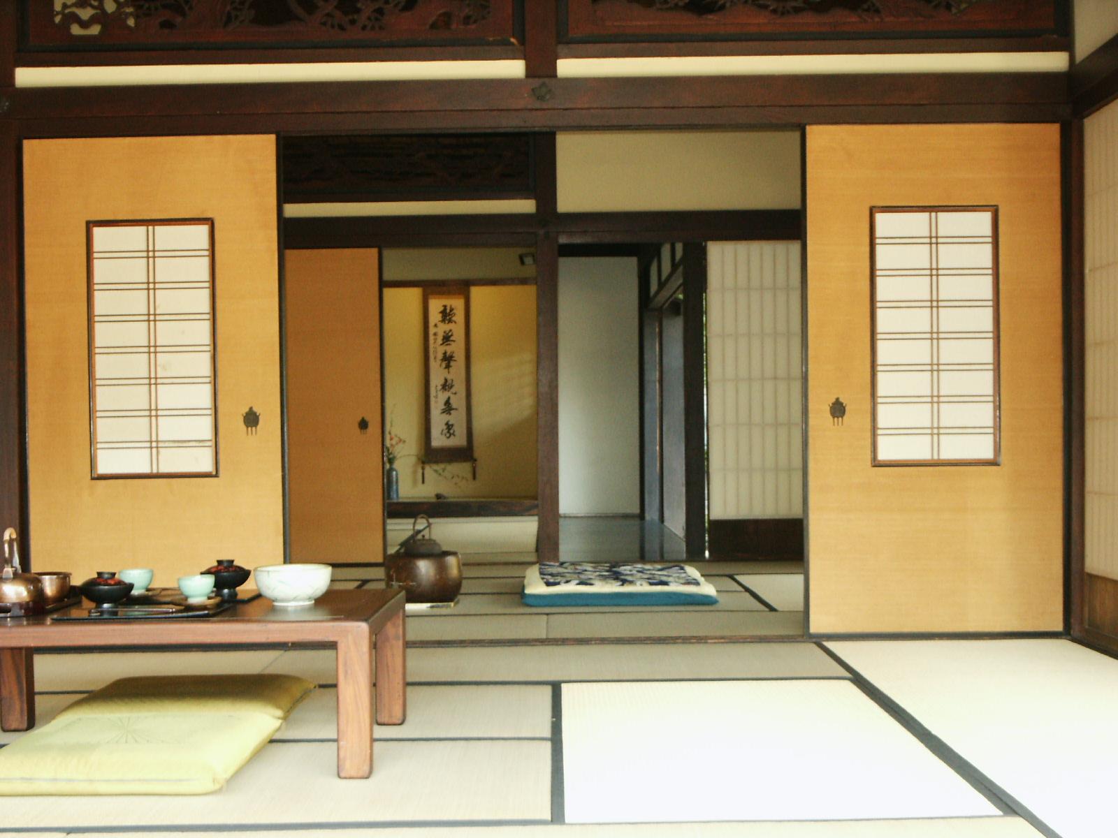unusual airbnb tokyo teahouse interior
