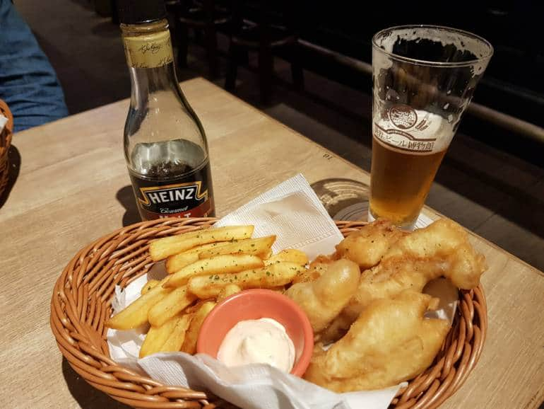 Fish and Chips at World Beer Museum