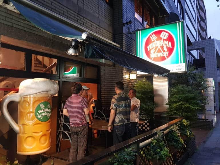 Exterior of Yokohama Brewery
