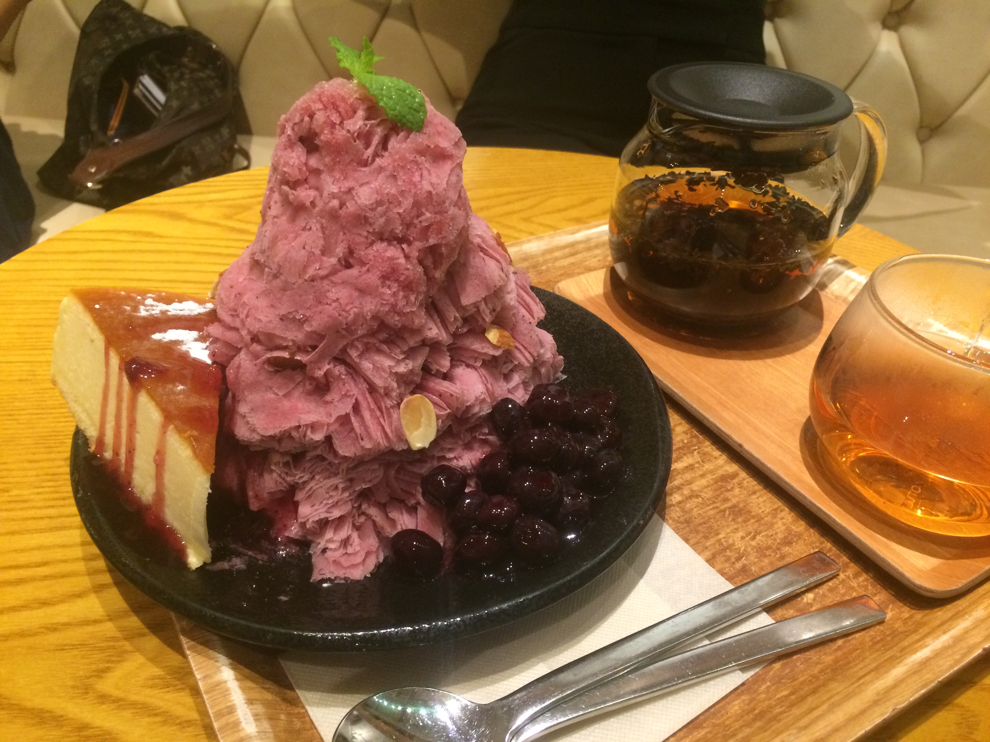 Blueberry Bingsu