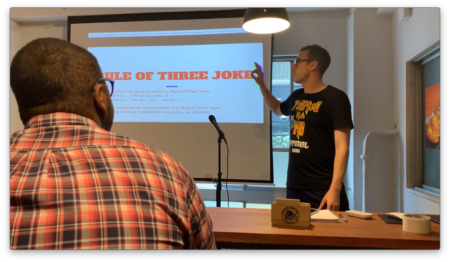Workshop: Intro to Stand-Up Comedy, 3rd Aug, 2019 | Tokyo Cheapo