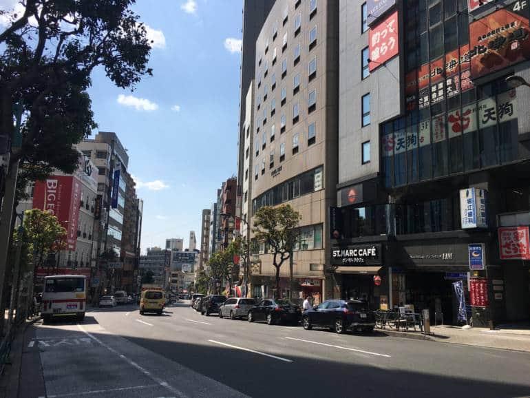 meguro-dori shopping