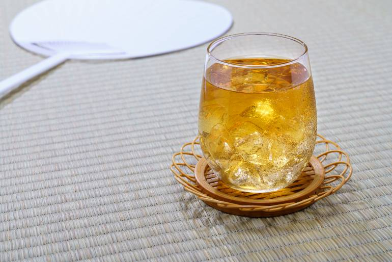 mugicha summer drink in Japan