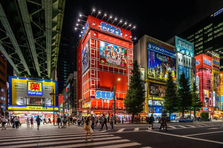 Sega VR in Akihabara