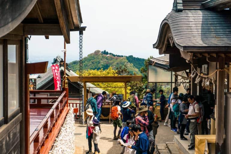 Mt Mitake shrine