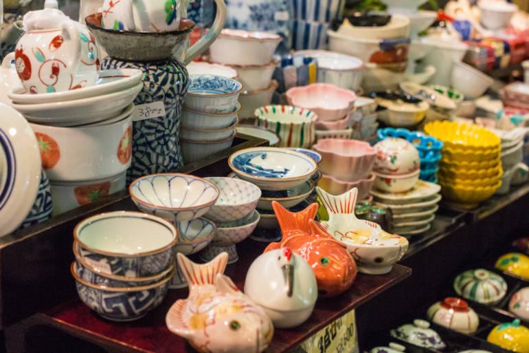 Flea market Japan Tokyo