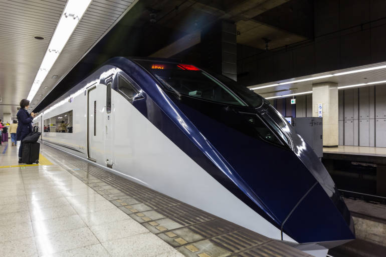 Keisei Skyliner Express from Narita to Tokyo