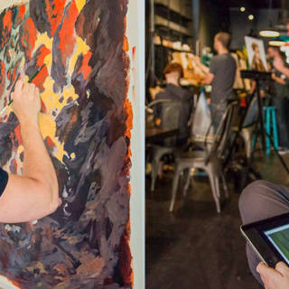 MTG Art Battle: Paint vs. Pixels