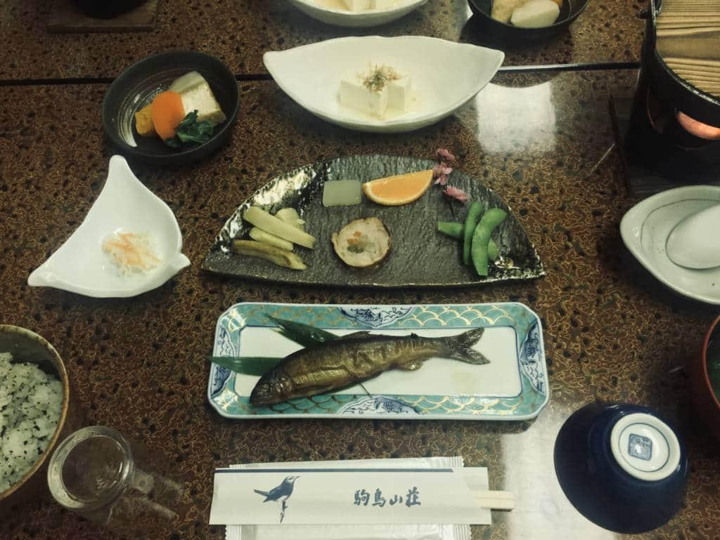 shukubo dinner