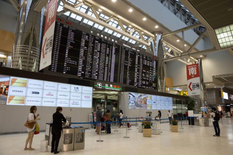 narita tokyo airport arrivals hall