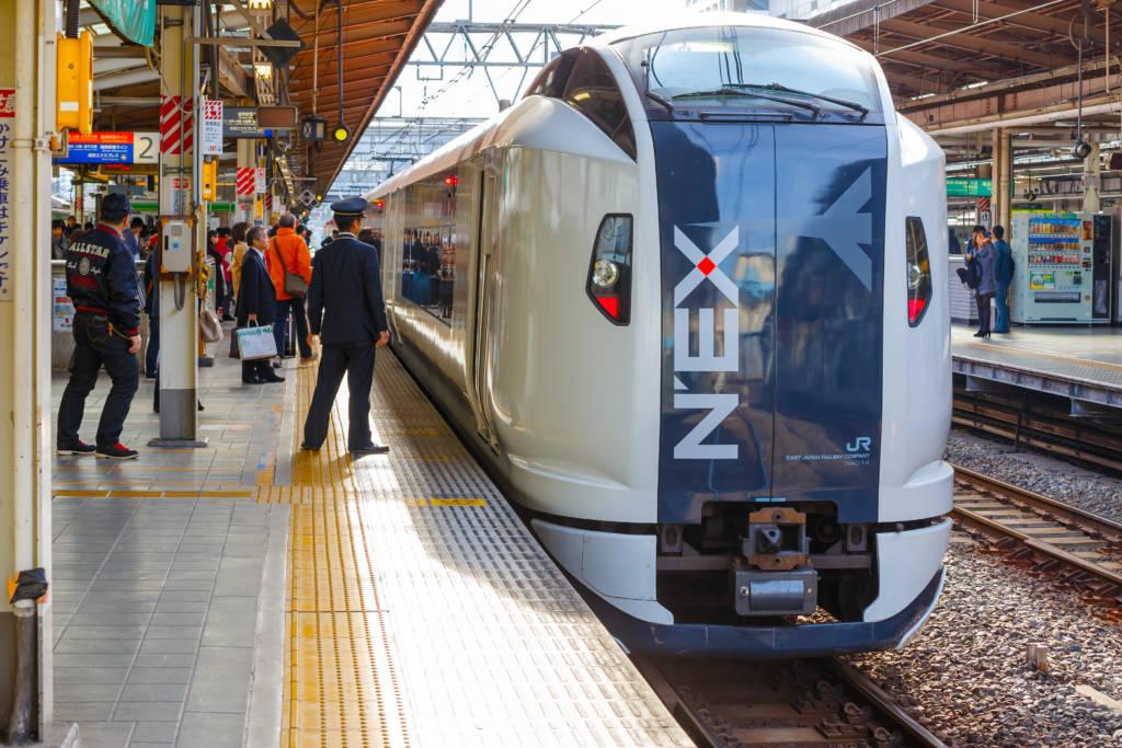 narita to tokyo train - the narita express