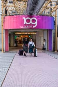Shibuya Shopping at 109
