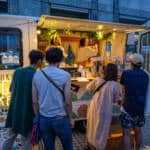 Tokyo Night Market Food Serving