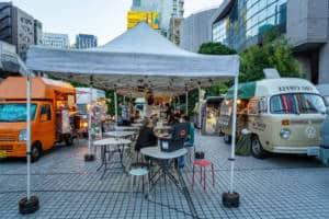 Tokyo Night Market Food