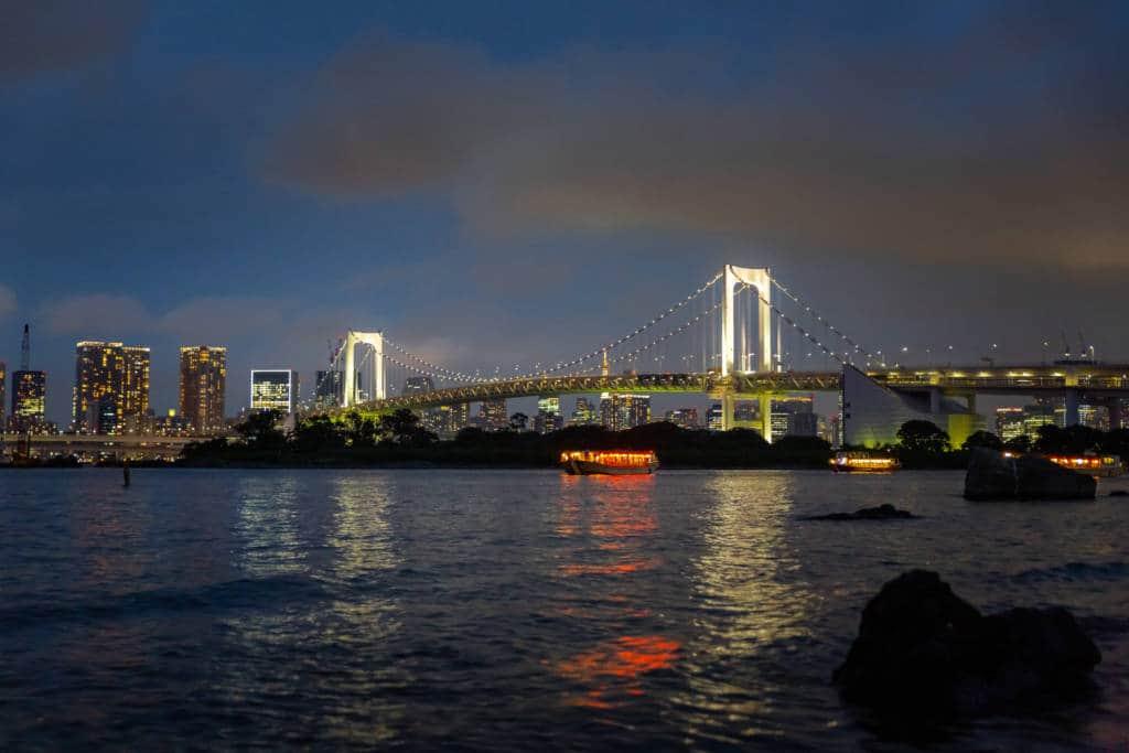 tokyo night walking tour
