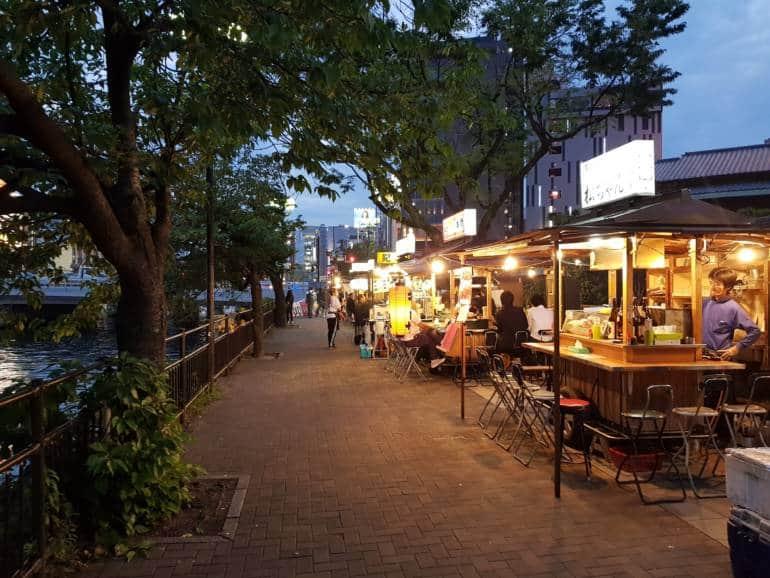 Fukuoka food stalls