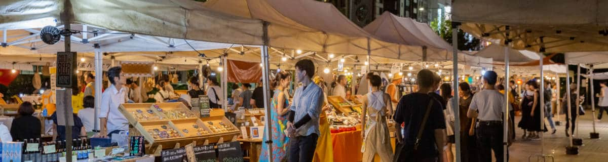 After-Dark Hangs at Tokyo's First Regular Night Market