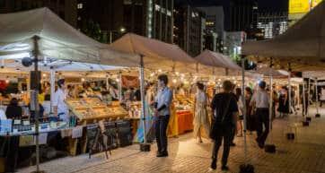 tokyo night market
