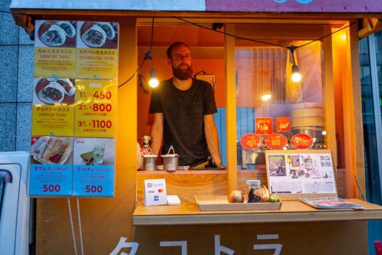 tokyo night market taco truck