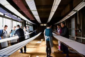 fabric dyeing in Tokyo by Voyagin