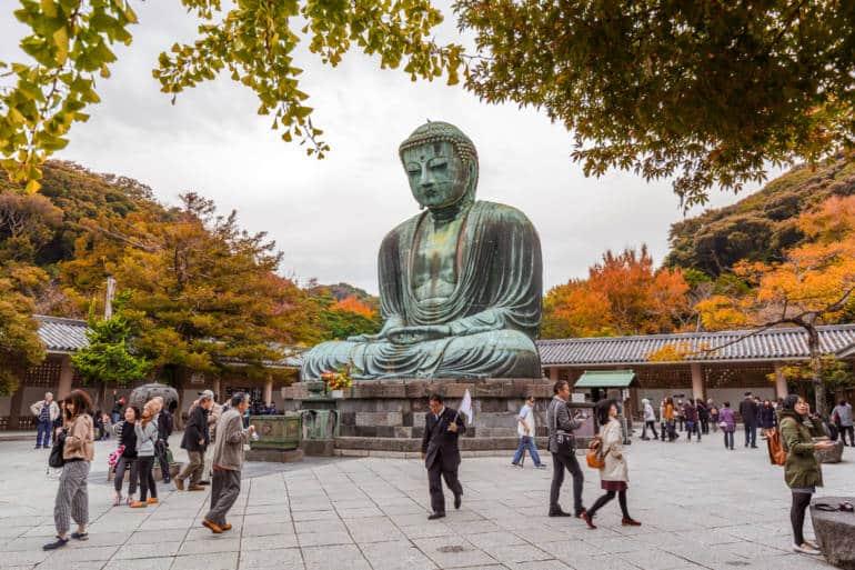 Kamakura fall day trip
