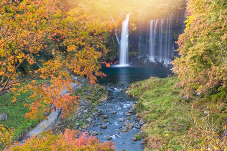 karuizawa autumn day trip from tokyo