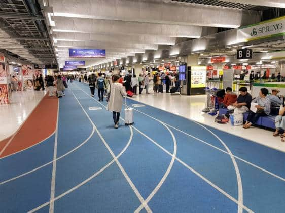Interior of Narita Airport Terminal 3
