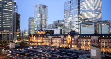 tokyo station marunouchi area