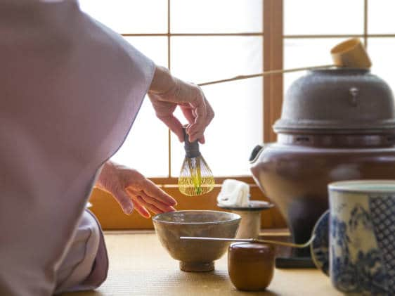 grand tea ceremony