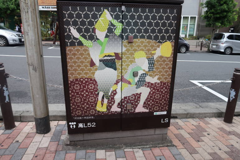 awaodori image in koenji
