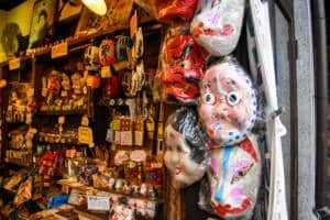 traditional masks kagurazaka
