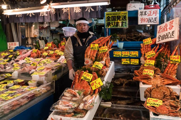 tsukiji market trader